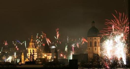 Silvester enkelt parti Mainz