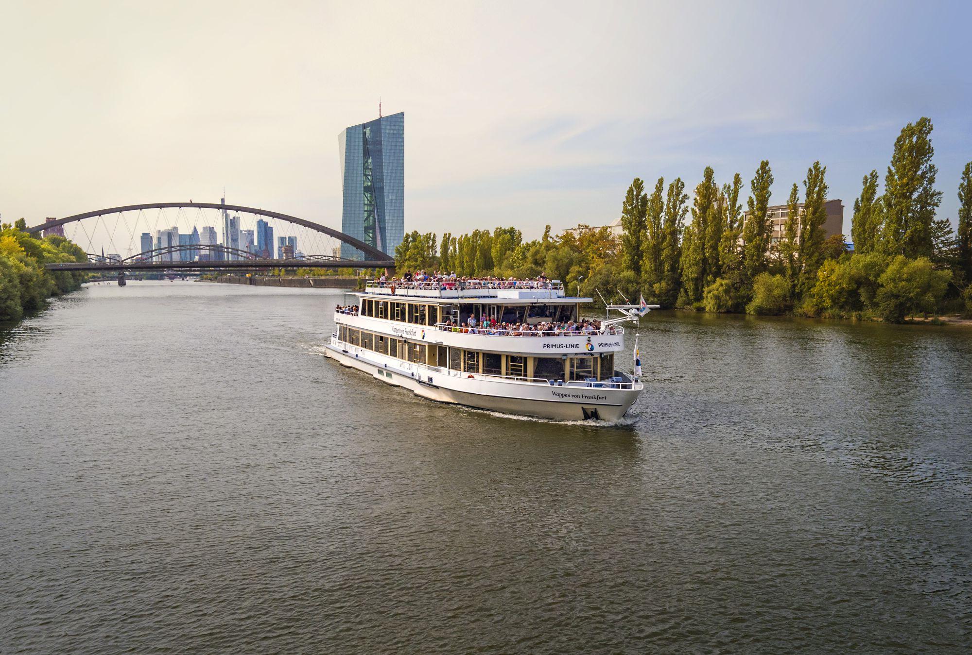 0c7a524402d420 Schiff Wappen von Frankfurt – das Salonschiff - Frankfurter ...